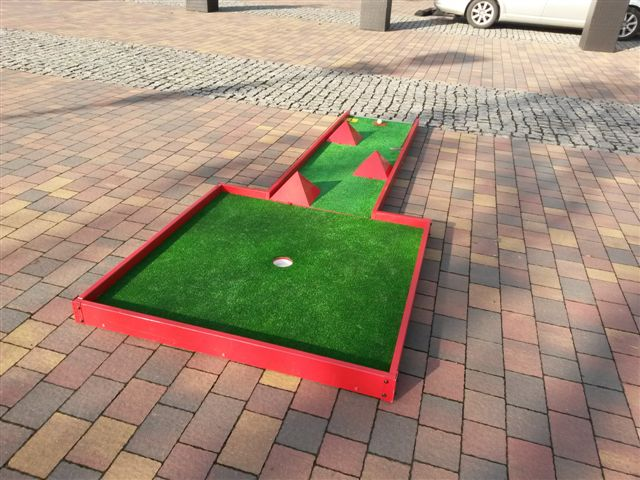mini golf na wynajem